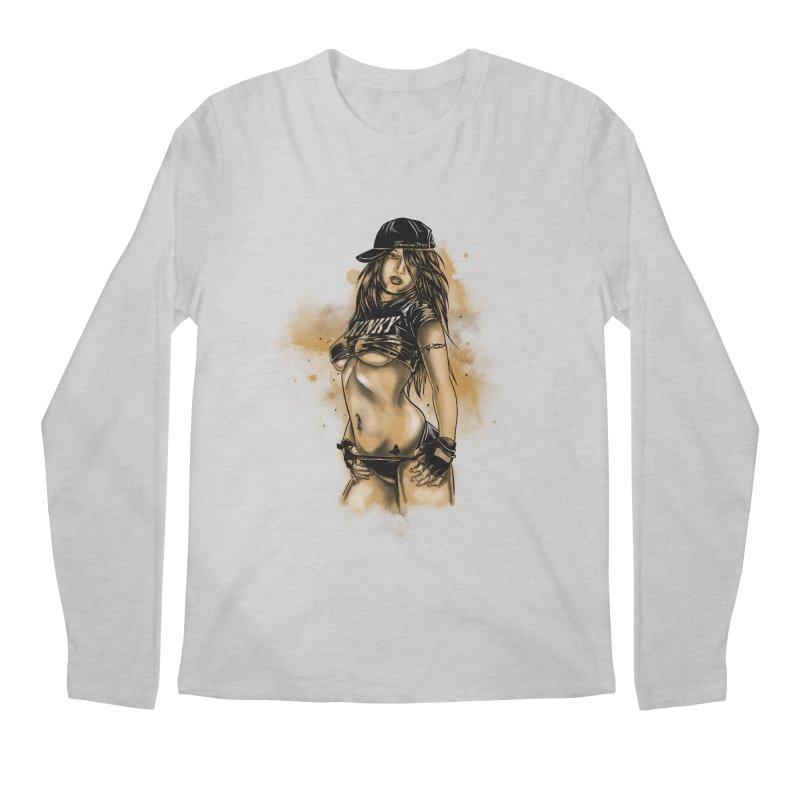 Girl Men's Longsleeve T-Shirt by 1111cr3w's Artist Shop