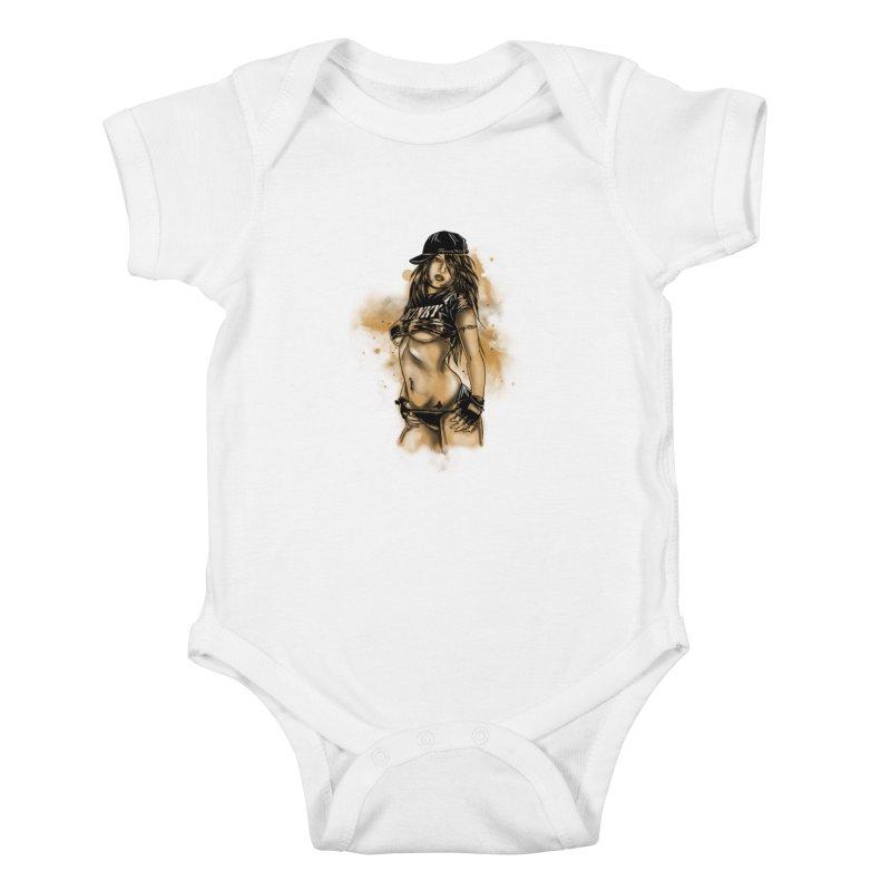 Girl Kids Baby Bodysuit by 1111cr3w's Artist Shop