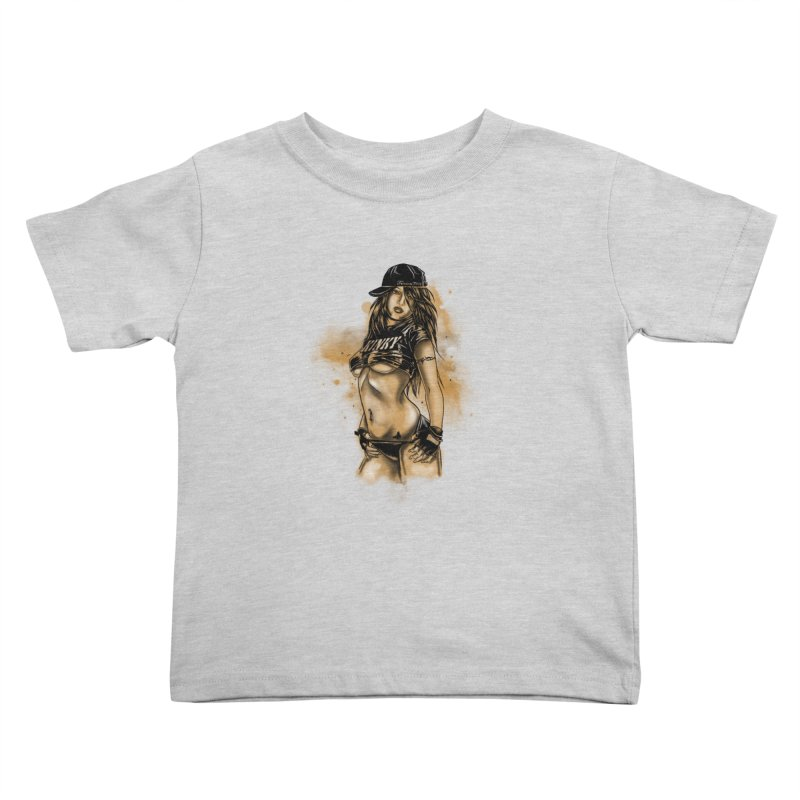 Girl Kids Toddler T-Shirt by 1111cr3w's Artist Shop