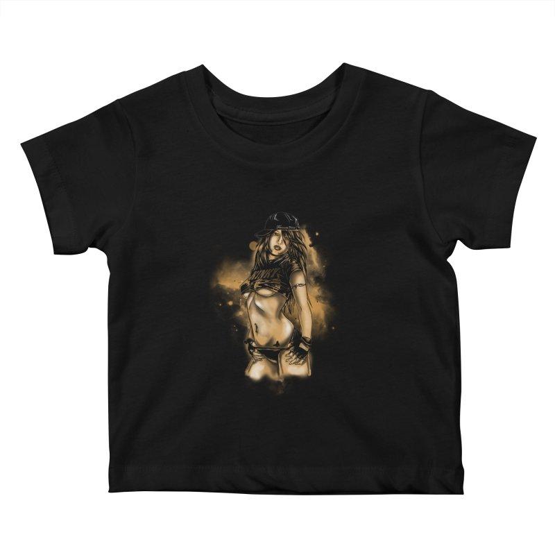 Girl Kids Baby T-Shirt by 1111cr3w's Artist Shop