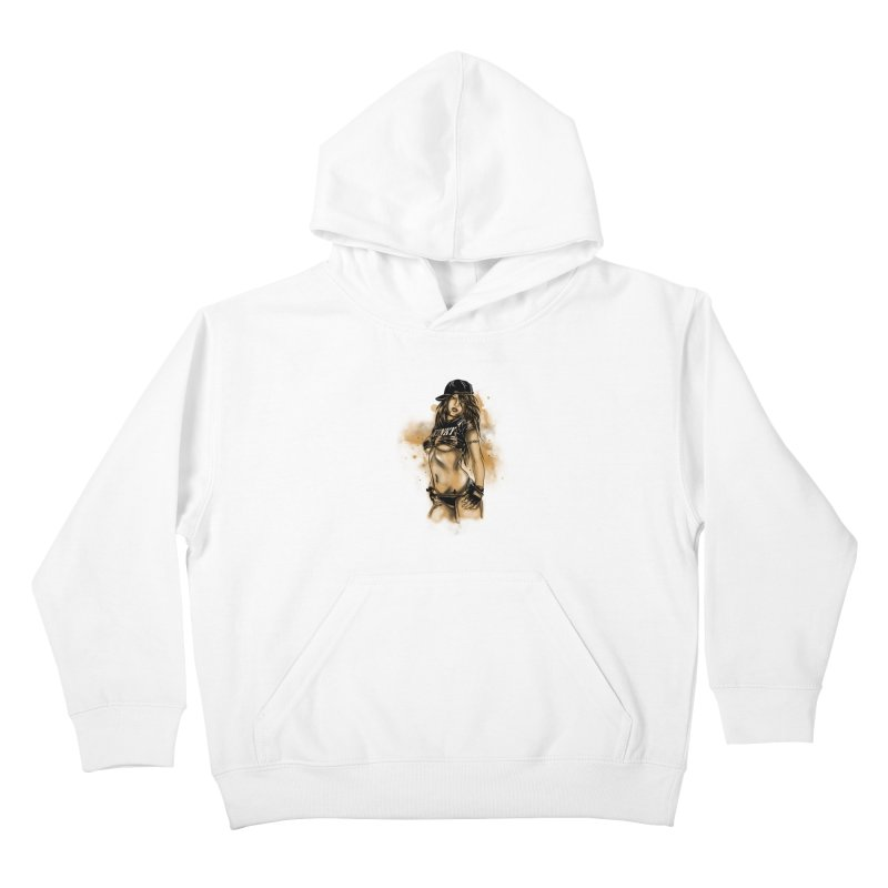 Girl Kids Pullover Hoody by 1111cr3w's Artist Shop