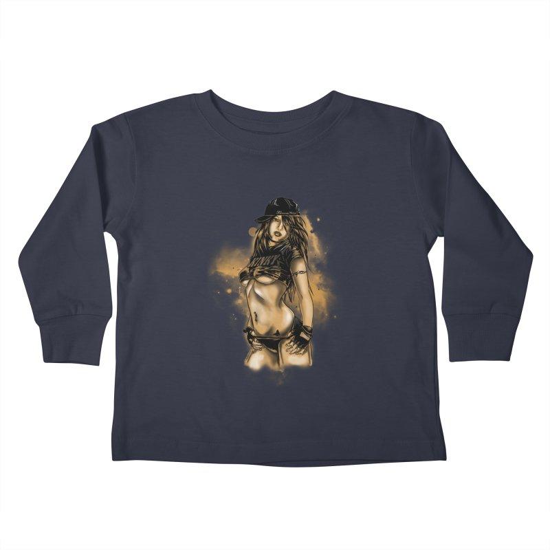 Girl Kids Toddler Longsleeve T-Shirt by 1111cr3w's Artist Shop