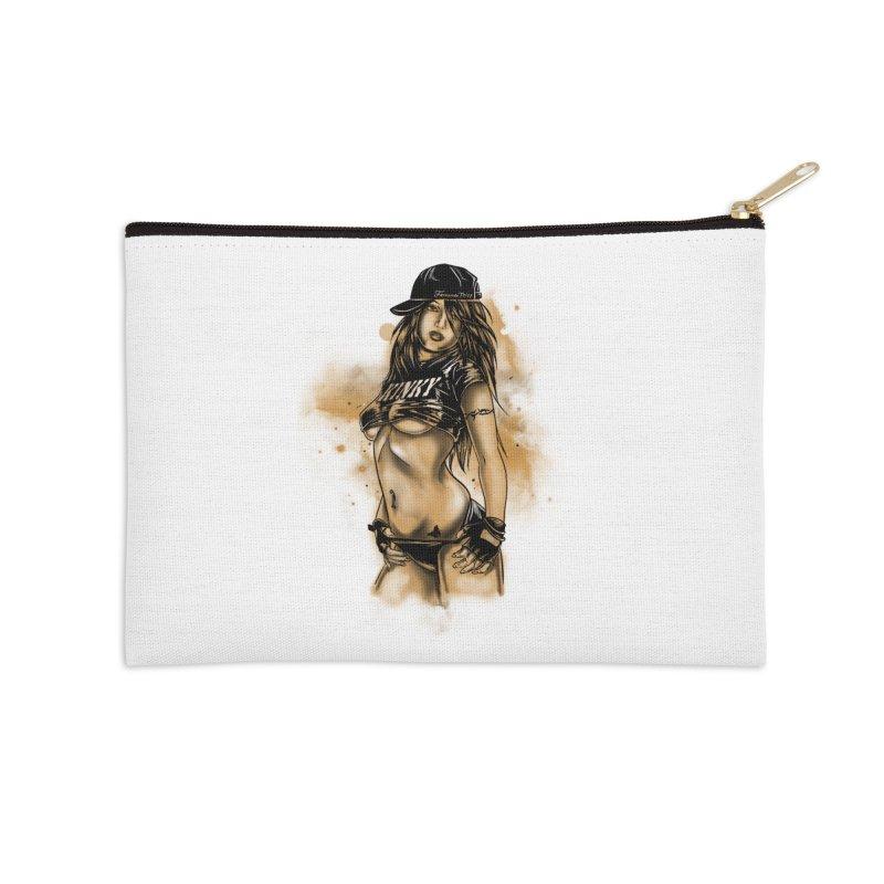 Girl Accessories Zip Pouch by 1111cr3w's Artist Shop