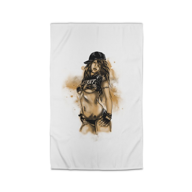 Girl Home Rug by 1111cr3w's Artist Shop
