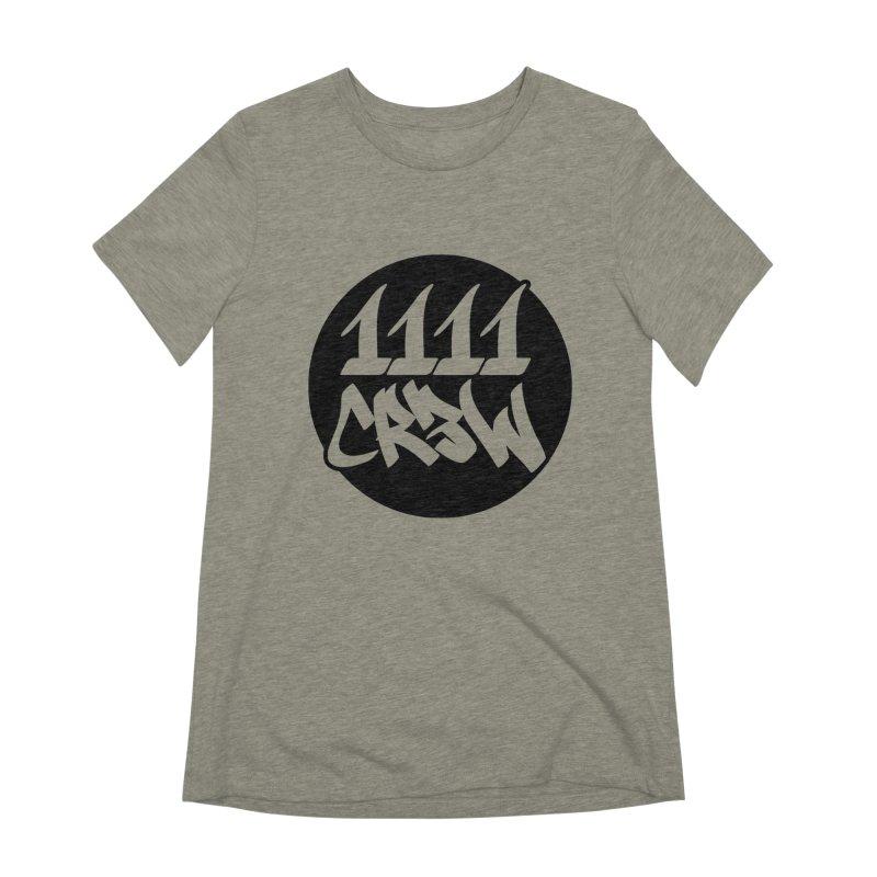 1111CR3W Women's Extra Soft T-Shirt by 1111cr3w's Artist Shop