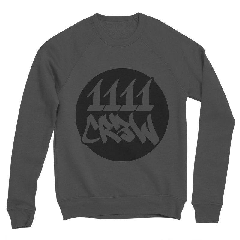 1111CR3W Women's Sponge Fleece Sweatshirt by 1111cr3w's Artist Shop
