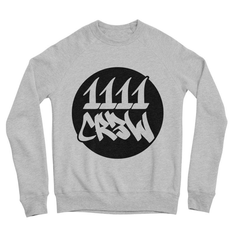 1111CR3W Men's Sponge Fleece Sweatshirt by 1111cr3w's Artist Shop