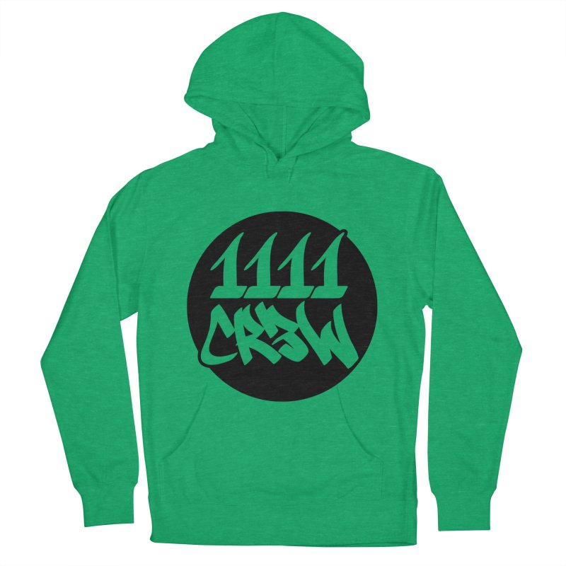 1111CR3W Men's French Terry Pullover Hoody by 1111cr3w's Artist Shop