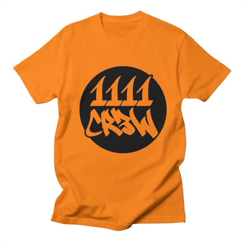 1111CR3W Men's Regular T-Shirt by 1111cr3w's Artist Shop