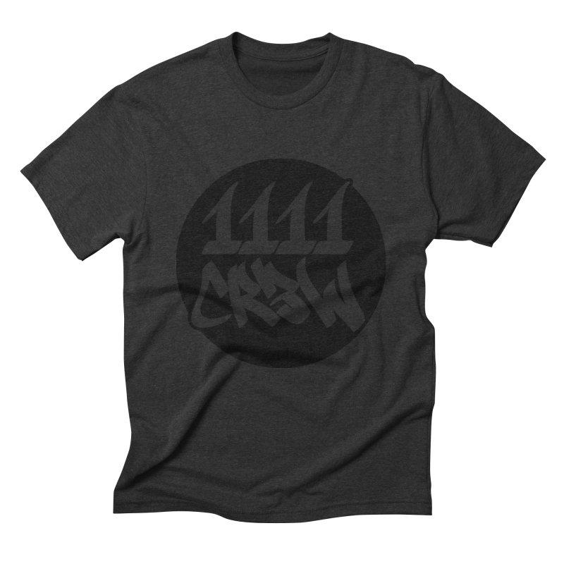 1111CR3W Men's Triblend T-Shirt by 1111cr3w's Artist Shop