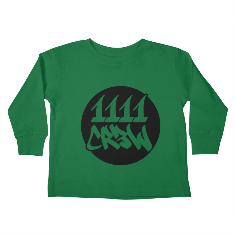 1111CR3W Kids Toddler Longsleeve T-Shirt by 1111cr3w's Artist Shop