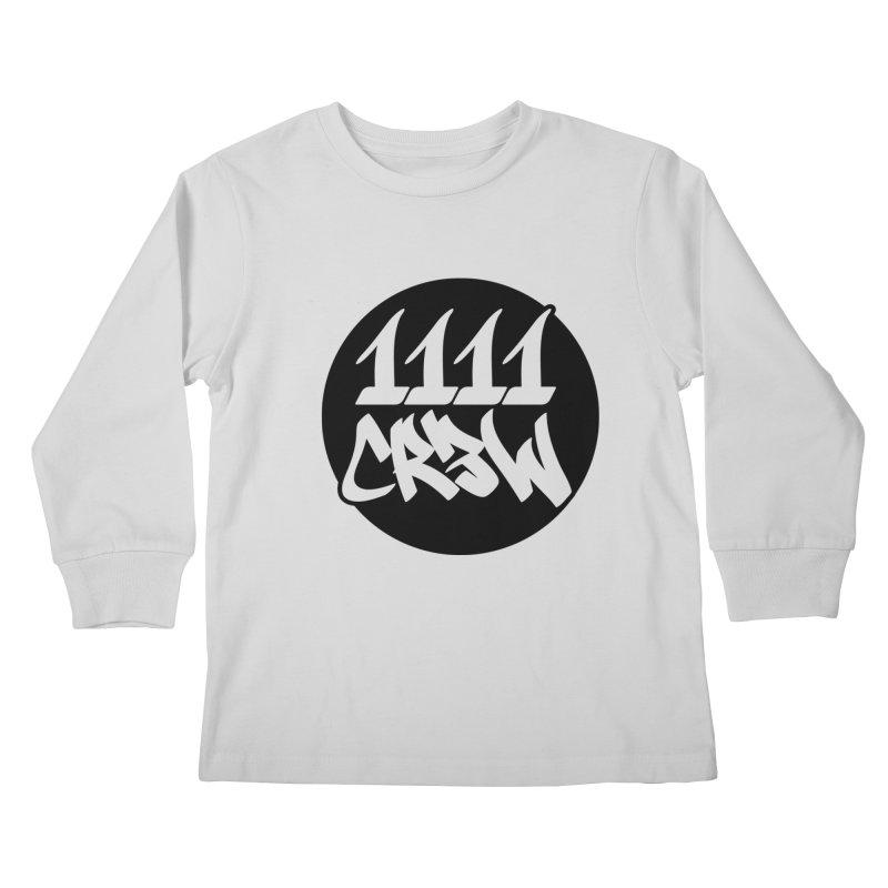 1111CR3W Kids Longsleeve T-Shirt by 1111cr3w's Artist Shop