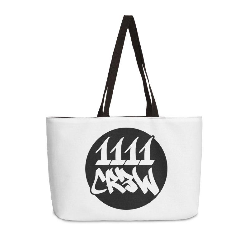 1111CR3W Accessories Weekender Bag Bag by 1111cr3w's Artist Shop
