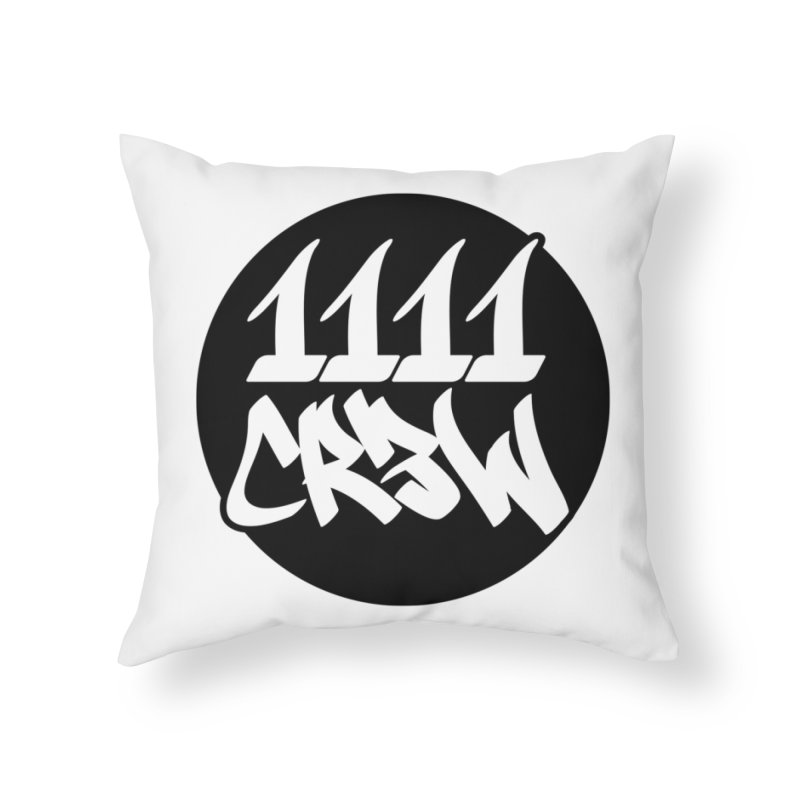 1111CR3W Home Throw Pillow by 1111cr3w's Artist Shop