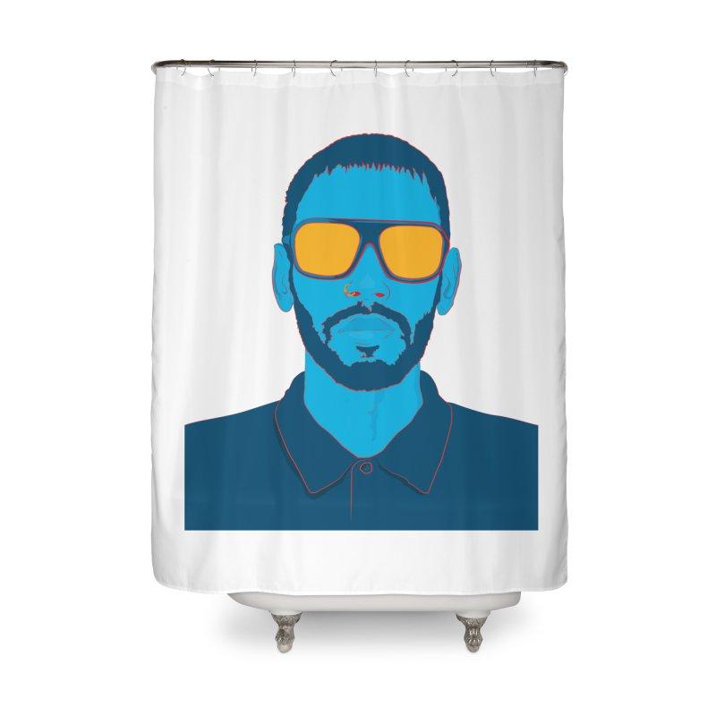 Nirvana Home Shower Curtain by 1111cr3w's Artist Shop