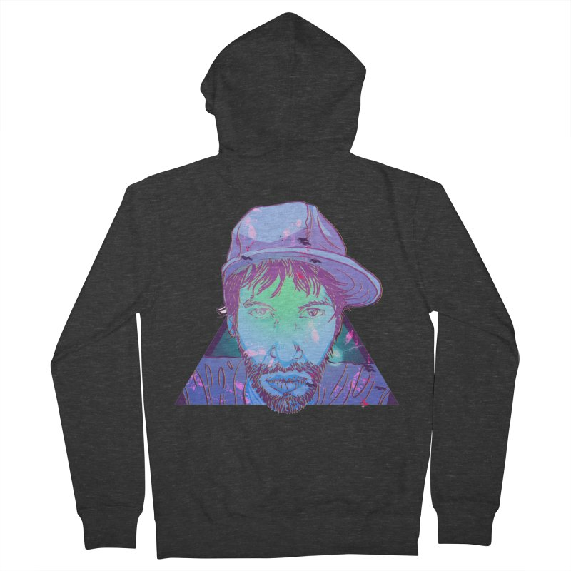 Triff Triangle Head Men's French Terry Zip-Up Hoody by 1111cr3w's Artist Shop
