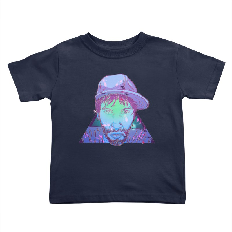Triff Triangle Head Kids Toddler T-Shirt by 1111cr3w's Artist Shop