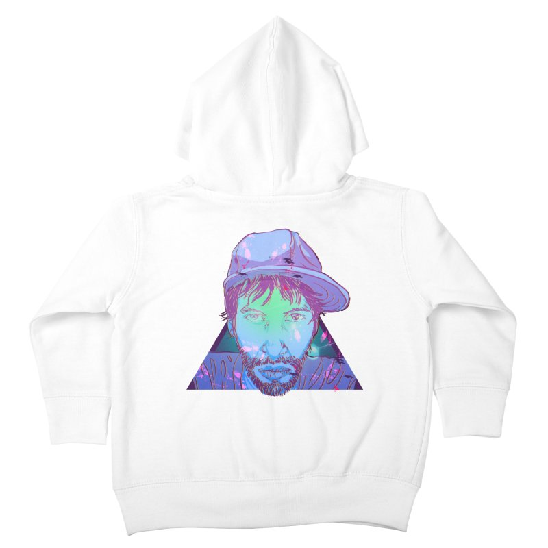 Triff Triangle Head Kids Toddler Zip-Up Hoody by 1111cr3w's Artist Shop