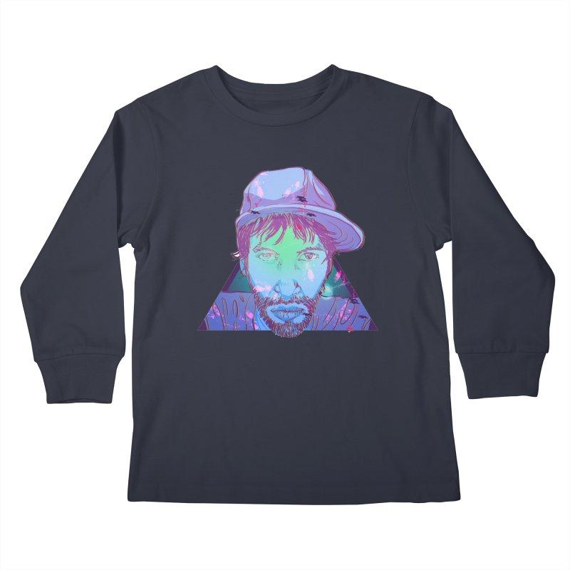 Triff Triangle Head Kids Longsleeve T-Shirt by 1111cr3w's Artist Shop