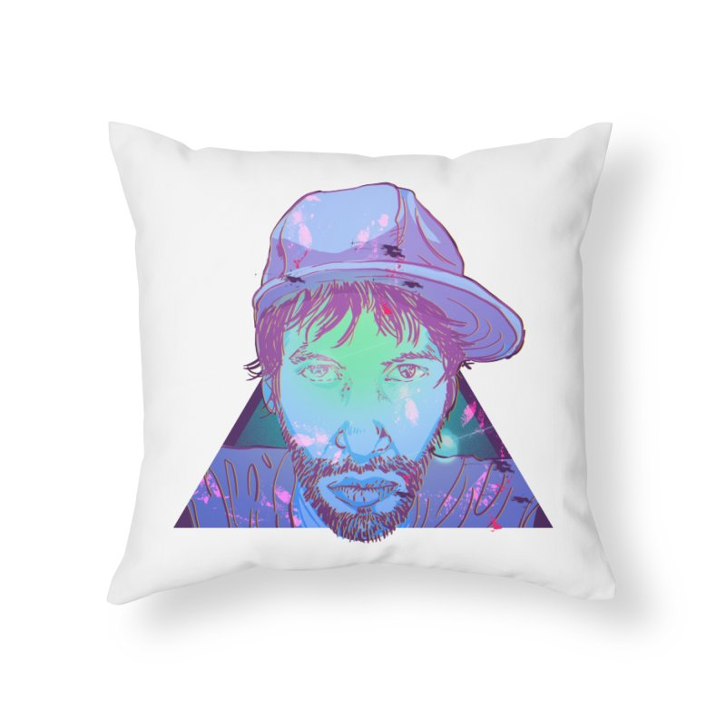 Triff Triangle Head Home Throw Pillow by 1111cr3w's Artist Shop