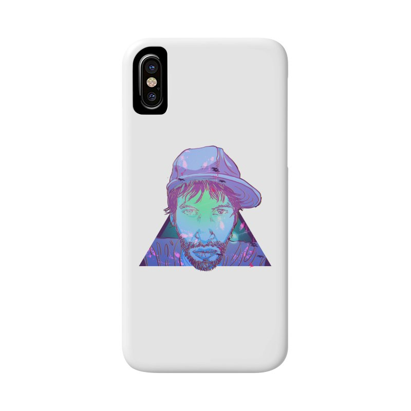 Triff Triangle Head Accessories Phone Case by 1111cr3w's Artist Shop