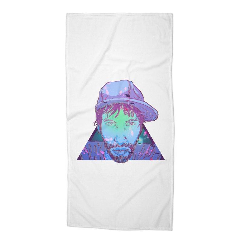 Triff Triangle Head Accessories Beach Towel by 1111cr3w's Artist Shop