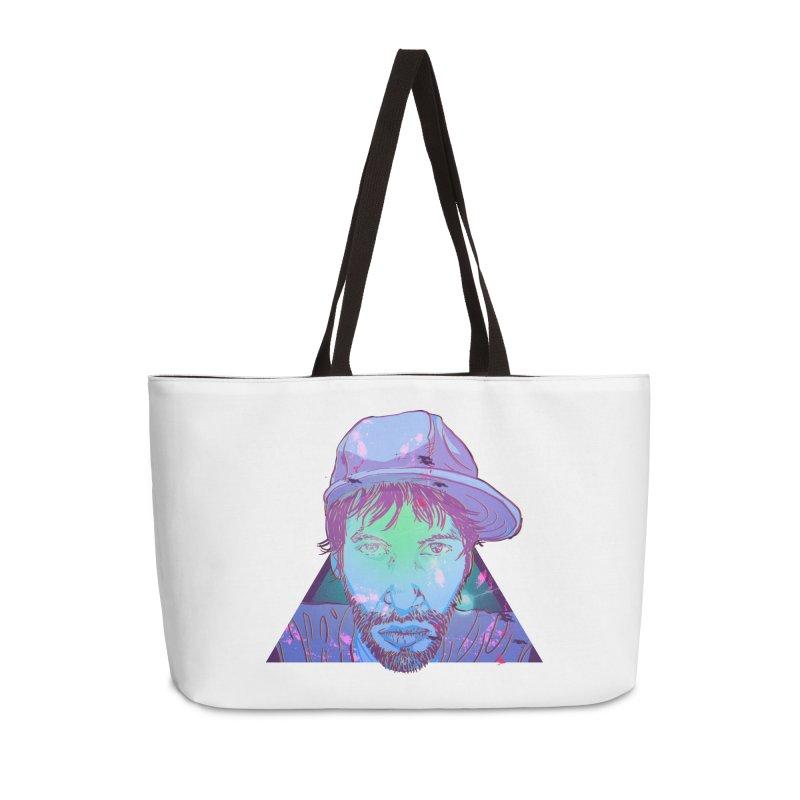 Triff Triangle Head Accessories Weekender Bag Bag by 1111cr3w's Artist Shop