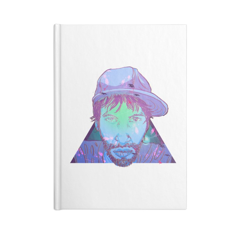 Triff Triangle Head Accessories Lined Journal Notebook by 1111cr3w's Artist Shop