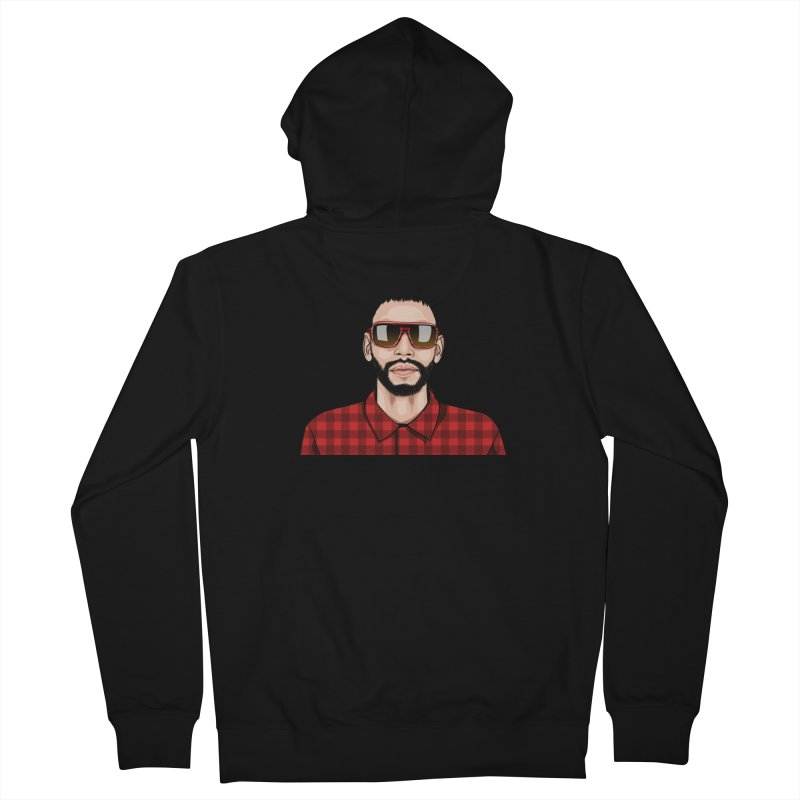 Let's Rock Men's French Terry Zip-Up Hoody by 1111cr3w's Artist Shop