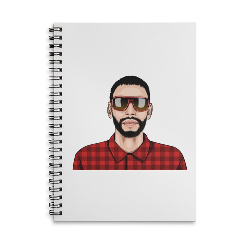Let's Rock in Lined Spiral Notebook by 1111cr3w's Artist Shop