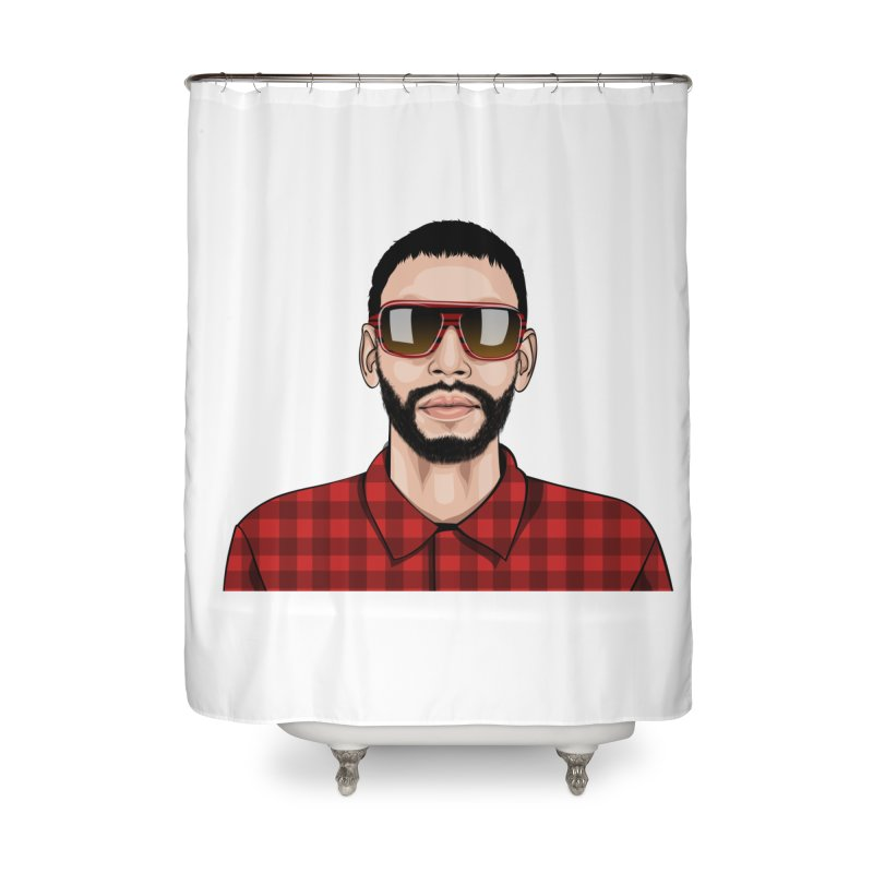 Let's Rock Home Shower Curtain by 1111cr3w's Artist Shop