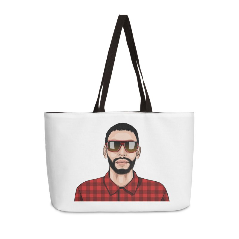 Let's Rock Accessories Weekender Bag Bag by 1111cr3w's Artist Shop