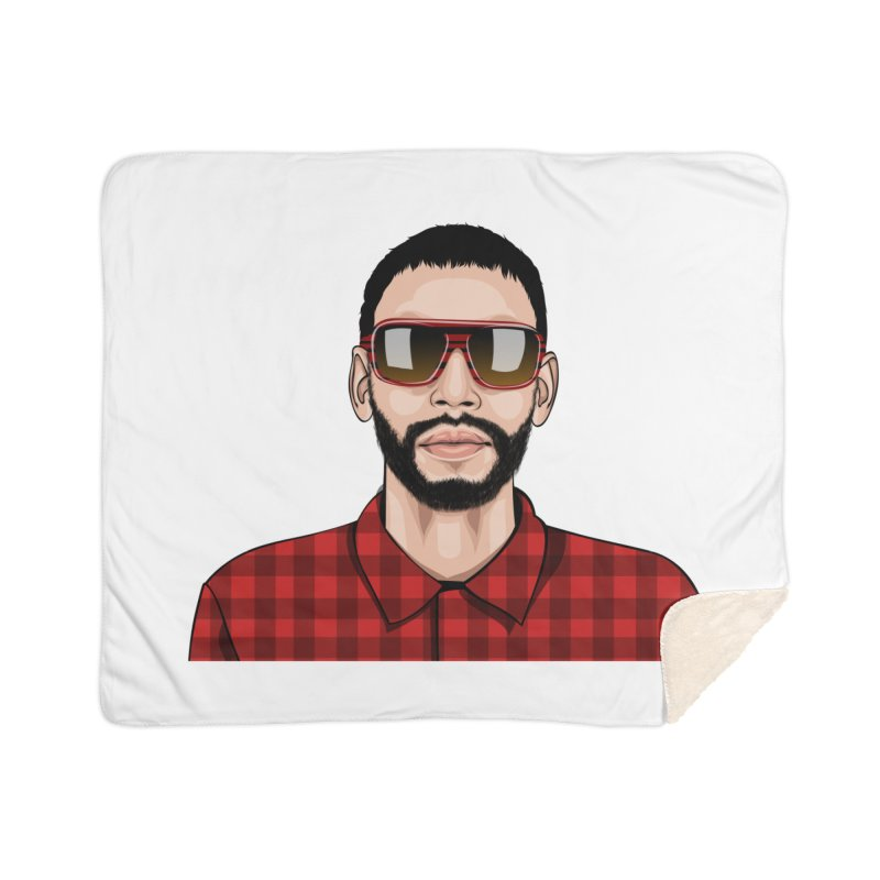 Let's Rock Home Sherpa Blanket Blanket by 1111cr3w's Artist Shop
