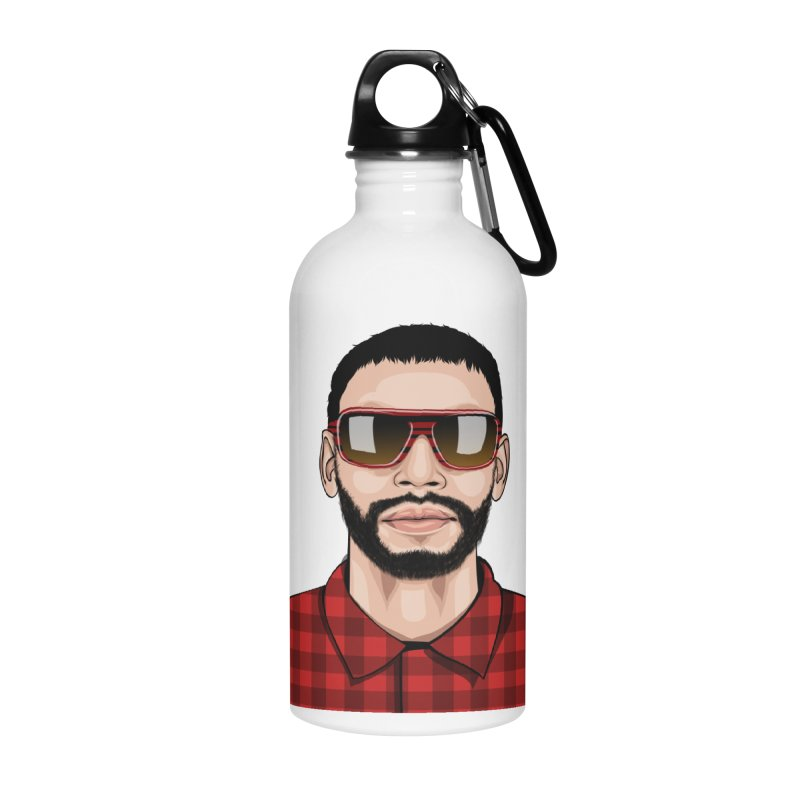 Let's Rock Accessories Water Bottle by 1111cr3w's Artist Shop