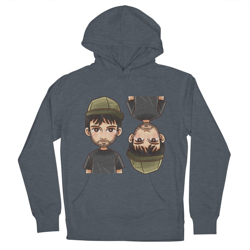 Cartoon Triff Men's French Terry Pullover Hoody by 1111cr3w's Artist Shop