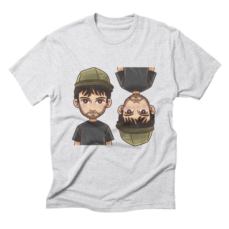 Cartoon Triff Men's Triblend T-Shirt by 1111cr3w's Artist Shop