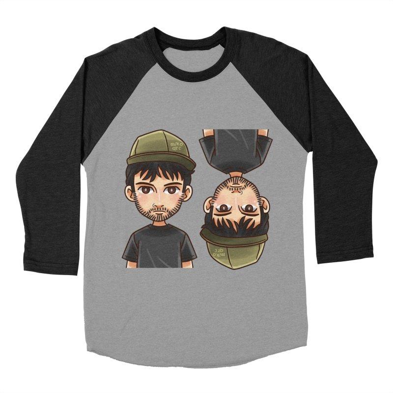 Cartoon Triff Men's Baseball Triblend Longsleeve T-Shirt by 1111cr3w's Artist Shop