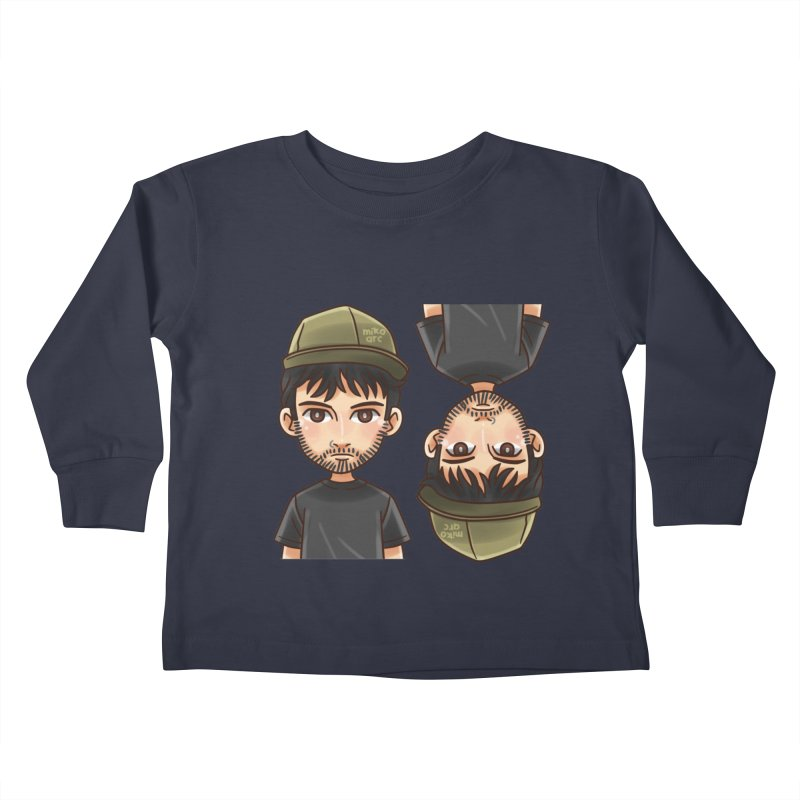 Cartoon Triff Kids Toddler Longsleeve T-Shirt by 1111cr3w's Artist Shop