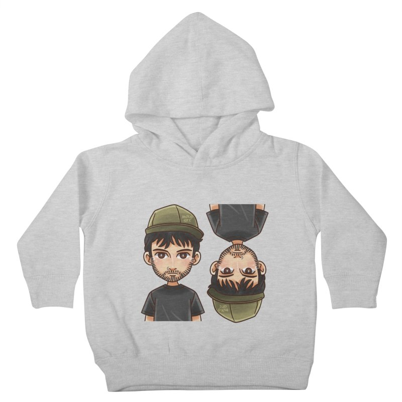 Cartoon Triff Kids Toddler Pullover Hoody by 1111cr3w's Artist Shop