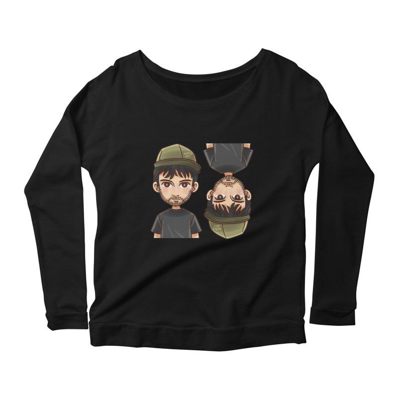 Cartoon Triff Women's Scoop Neck Longsleeve T-Shirt by 1111cr3w's Artist Shop