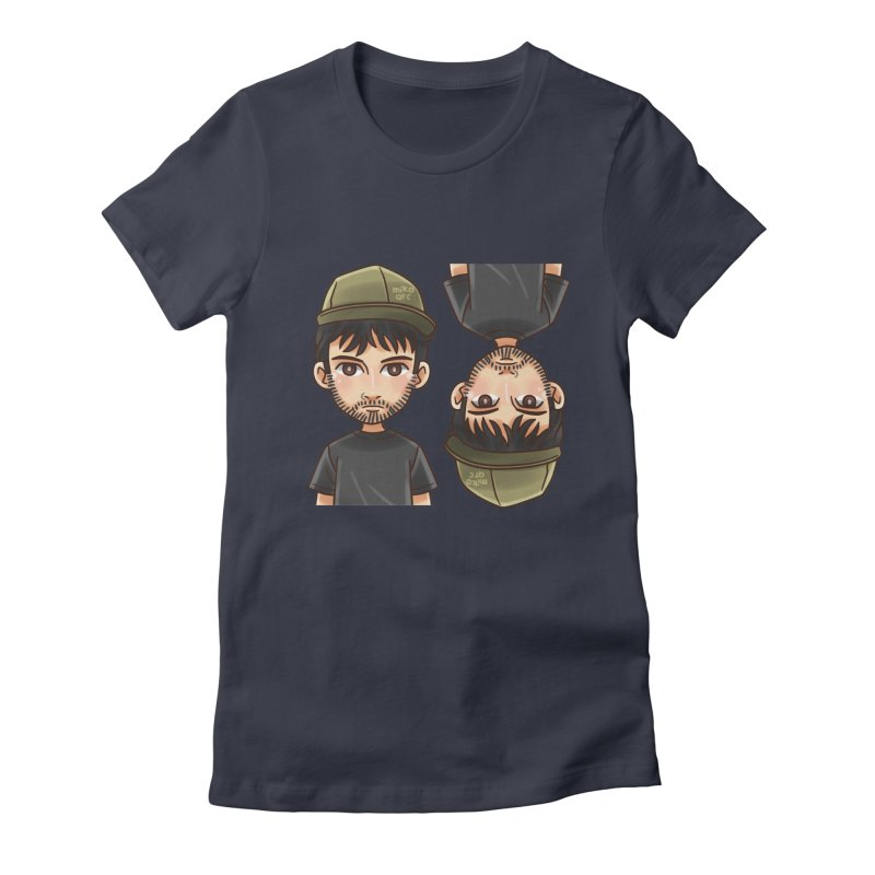 Cartoon Triff Women's Fitted T-Shirt by 1111cr3w's Artist Shop