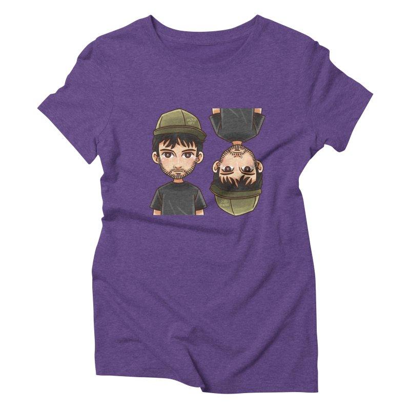 Cartoon Triff Women's Triblend T-Shirt by 1111cr3w's Artist Shop