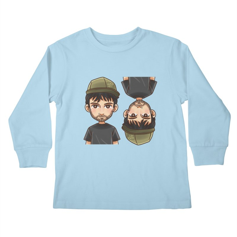 Cartoon Triff Kids Longsleeve T-Shirt by 1111cr3w's Artist Shop