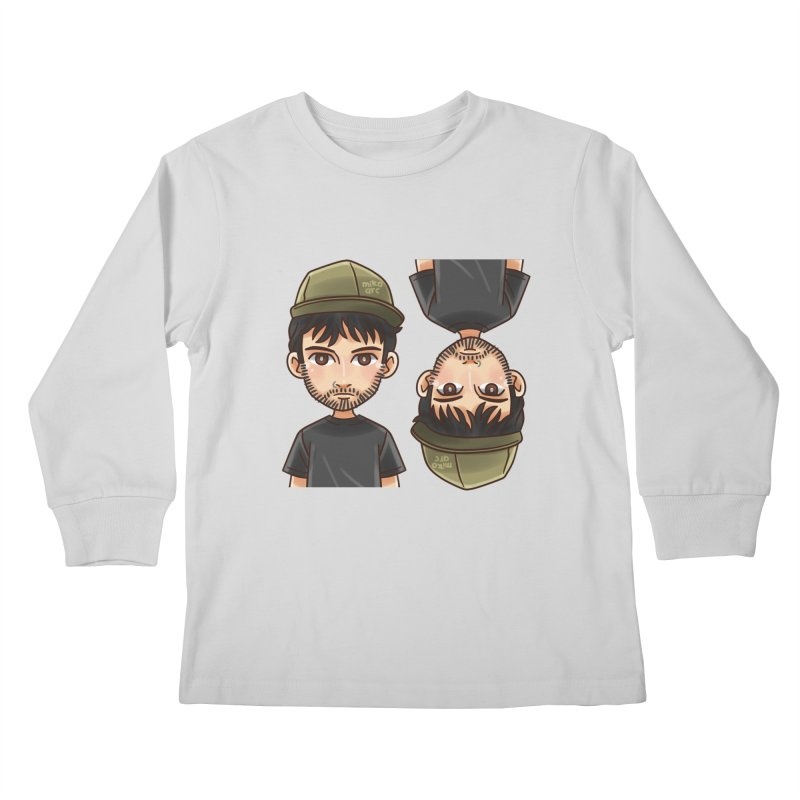 Cartoon Triff Kids Longsleeve T-Shirt by 1111cr3w's Artist Shop