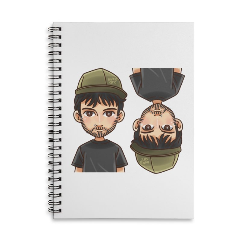 Cartoon Triff Accessories Lined Spiral Notebook by 1111cr3w's Artist Shop