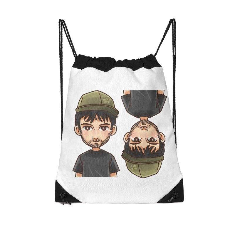 Cartoon Triff Accessories Drawstring Bag Bag by 1111cr3w's Artist Shop