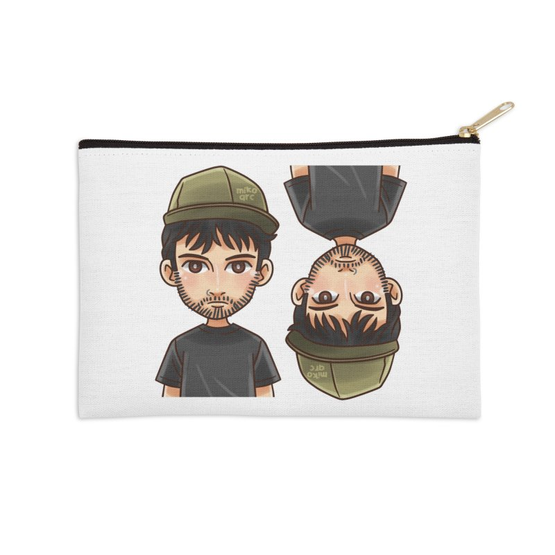 Cartoon Triff Accessories Zip Pouch by 1111cr3w's Artist Shop