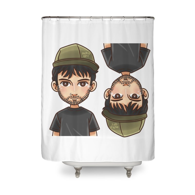 Cartoon Triff Home Shower Curtain by 1111cr3w's Artist Shop