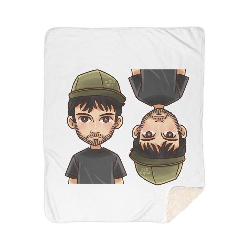 Cartoon Triff Home Sherpa Blanket Blanket by 1111cr3w's Artist Shop