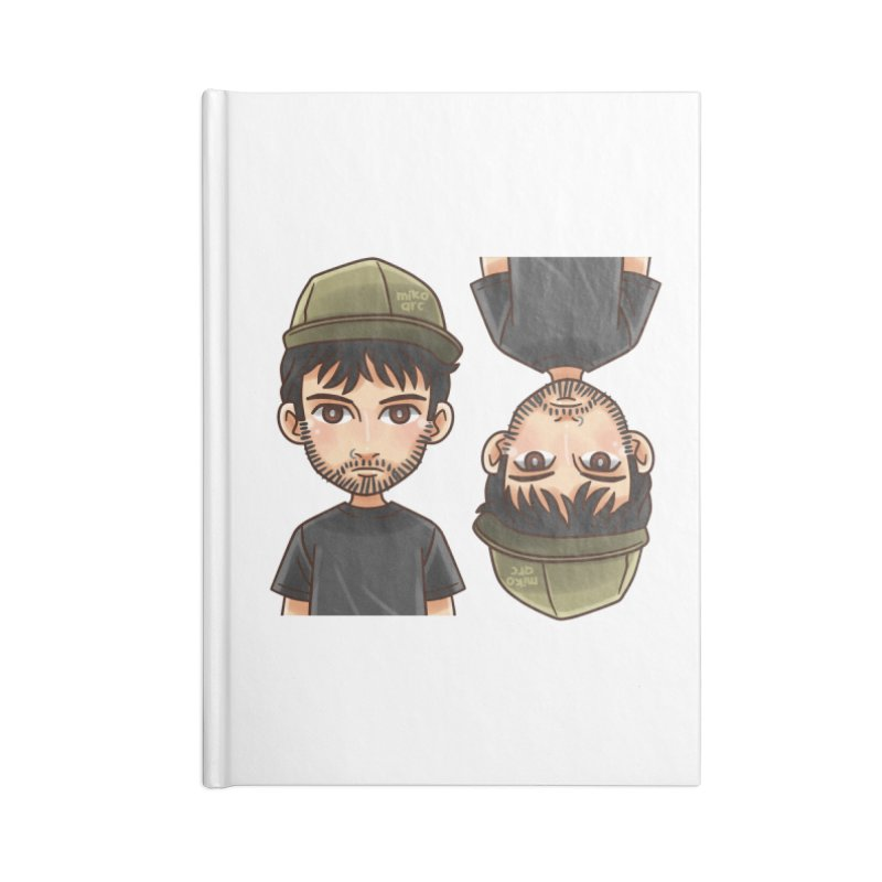 Cartoon Triff Accessories Lined Journal Notebook by 1111cr3w's Artist Shop